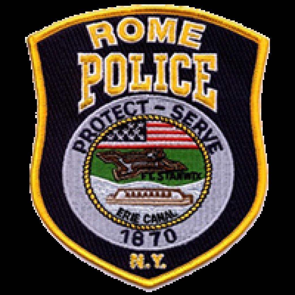 Rome Police Badge