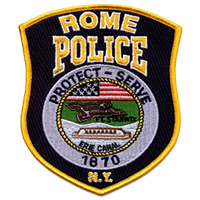 Rome PD Badge