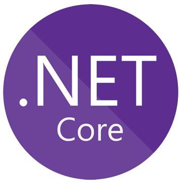 Net core transparent logo