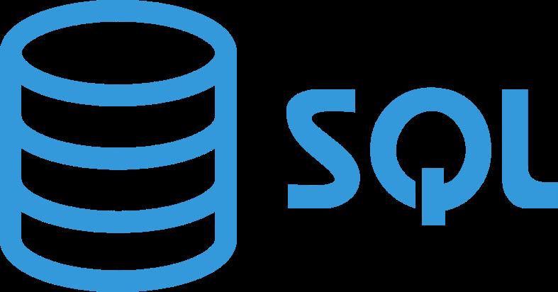 SQL transparent logo